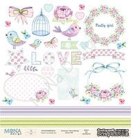 """Лист для вырезания от Mona Design - """"Fancy Spring"""", 30,5х30,5см"""