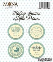 "Набор фишек от Mona Design ""Little prince"", 4 шт."