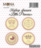 "Набор фишек от Mona Design ""Little Princess"", 4 шт."