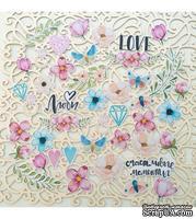 Набор высечек от Mona Design - Love is in the air, размер упаковки 10x14,5 см