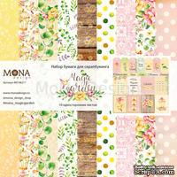 Набор бумаги от Mona Design — Magic Garden, 10 листов
