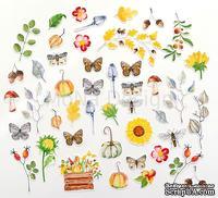 Набор высечек от Mona Design - Осенняя история, 45 элементов