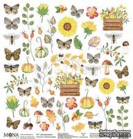 Лист для вырезания от Mona Design — Осенняя история, 30,5х30,5см
