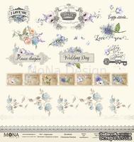 Лист карточек от Mona Design — Свадебная история