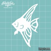 Чипборд от Вензелик - Рыбка 1, размер: 4,9 x 7,6 см
