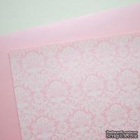Лист дизайнерской бумаги с рисунком Роскошно 2, цвет Зефир, А4