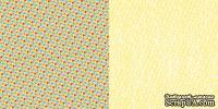 Лист скрапбумаги GCD Studios - Petit Floral - Artsy Urban Collection - двусторонняя, 30х30 см
