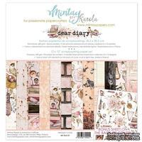 Набор скрапбумаги Mintay by Karola - Dear Diary, 30х30 см, 12 листов, двусторонняя