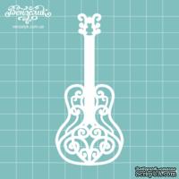 Чипборд от Вензелик - Гитара 01, размер: 42x93  мм