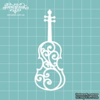 Чипборд от Вензелик - Скрипка 01, размер: 34x89  мм