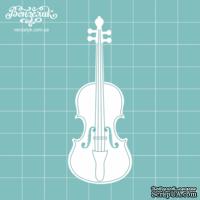Чипборд от Вензелик - Скрипка 04, размер:  28x75  мм