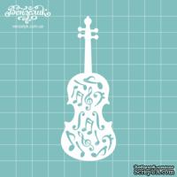 Чипборд от Вензелик - Скрипка 05, размер: 34x90  мм