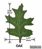 Фигурный дырокол с эмбоссингом Marvy - Clever Lever Giga Craft Punch EMBOSSING Oak Leaf