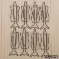Набор скрепок от Maya Road - Dress Form Hangers, 8 шт.