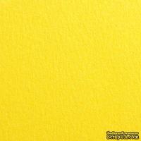 Дизайнерский картон с гладкой поверхностью Malmero Soleil, размер:30х30 см, цвет: желтый, плотность: 250 г/м2, 1 шт