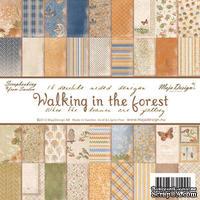 Набор бумаги для скрапбукинга от Maja Design - Walking in the forest - Paper Pad, 15х15 см, 36 листов