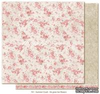 Двусторонний лист бумаги для скрапбукинга от Maja Design - Summer Crush - He gives her flowers, 30x30 см