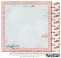 Двусторонний лист бумаги для скрапбукинга от Maja Design - Summer Crush - He picks her up, 30x30 см