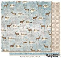 Лист двусторонней скрапбукинга от Maja Design -  Can?t wait, 30 x 30 см