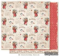 Лист двусторонней скрапбукинга от Maja Design -Home for the Holidays - Never to old, 30 x 30 см