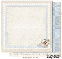 Лист двусторонней скрапбумаги от Maja design -It's a boy!,30х30 см