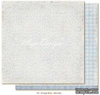 Лист двусторонней скрапбумаги от Maja design - Vintage Baby - Adorable,30х30 см