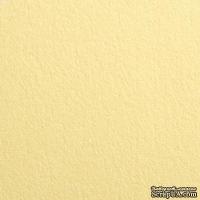 Дизайнерский картон с гладкой фактурой Malmero chamois, размер: 30,5х30,5, цвет: кремовый, 250 г/м2, 1 шт