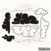 Набор акриловых штампов Lesia Zgharda N055 Облака
