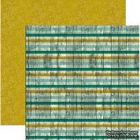 Лист скрапбумаги Authentique Beaming, 30х30 см, двусторонняя