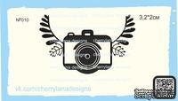 Штампы от Cherrylana -PHOTO-, с крыльями, 3,2х2 см