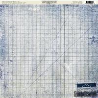 Лист скрапбумаги Authentique - Artistic, 30х30 см, односторонняя