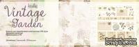 Набор односторонней скрапбумаги от Каралики - Vintage Garden, 30х32см, 10 листов, 190г/м2, дизайнер Степанова Наталья