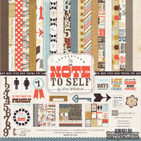 Набор бумаги от Echo Park Paper Co - Note to Self Collection Kit, 30x30