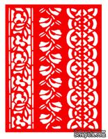 Трафарет - Бордюры8, 15*20см