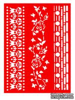 Трафарет - Бордюры9, 15*20см