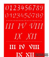 Трафарет - Набор цифр1 , 15*20см