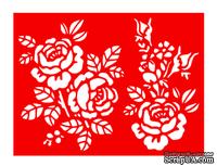 Трафарет - Розы букеты, 15*20см