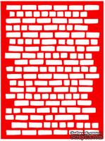Трафарет - Кирпич1, 15*20см
