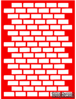 Трафарет - Кирпич3, 15*20см
