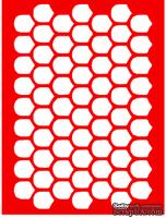 Трафарет - Черепица, 15*20см