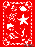 Трафарет - Море1, 15*20см