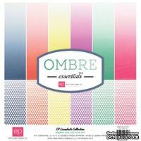 Набор бумаги для скрапбукинга от Echo Park - Ombre, 30х30 см