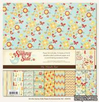 Набор бумаги и высечек My Mind's Eye - On the Sunny Side, двустороння, 30х30 см, 10 листов