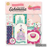 Высечки от Echo Park - Once Upon A Time Princess Frames & Tags - Ephemera