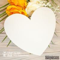 Основа для альбома ScrapBox в форме сердца (1 шт.) Оs-058