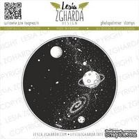 Акриловый штамп Lesia Zgharda Всесвіт P011