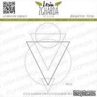 Акриловый штамп Lesia Zgharda Геометрична абстракція P012