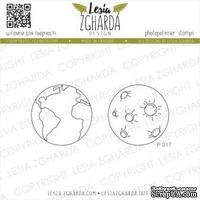 Набор акриловых штампов Lesia Zgharda Планети P017