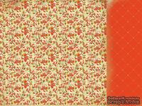 Лист двусторонней скрапбумаги от Kaisercraft - In the Attic - Closet Paper, 30,5х30,5 см