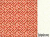 Лист двусторонней скрапбумаги от Kaisercraft - Маки - Remember Me - Estella Paper, 30,5х30,5 см